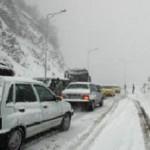 برف و کولاک شدید در هراز